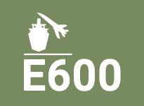 E600. Zonas por las que circulan vehículos de gran tonelaje, por ejemplo pavimentos de aeropuertos, muelles, etc.